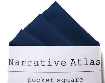 Pocket Square - Indigo