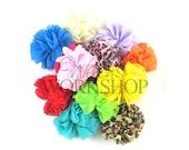 Double Ruffle Ballerina Flower Grab Bag - You Choose Quantity