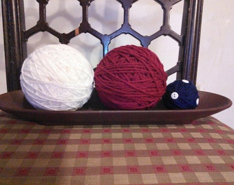 Patriotic Yarn Balls