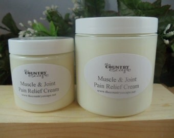 Muscle and Joint Pain Relief Cream - Natural Therapy