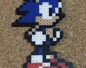 Sonic Bead Sprite   Sonic the Hedgehog   Super Smash Bros   Retro 8 bit