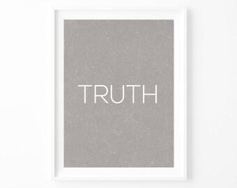 TRUTH   Print