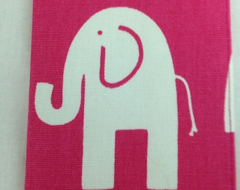 Hot Pink Elephant Passport Cover, Holder, Protector, Case