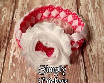 Shabby Flower Bun Wrap