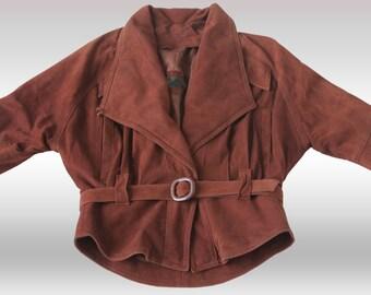 Women genuine leather jacket