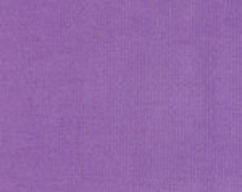 HALF YARD Purple Corduroy Fabric Finders Cotton Fabric
