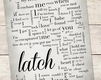 latch disclosure lyrics - photo #31