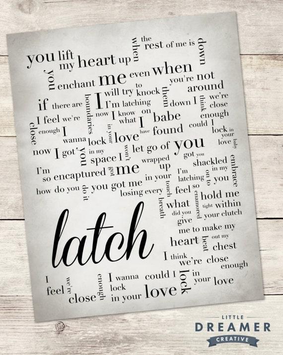 latch disclosure lyrics - photo #26