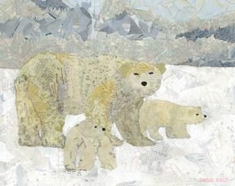 Polar Bear Arctic (Art Print)