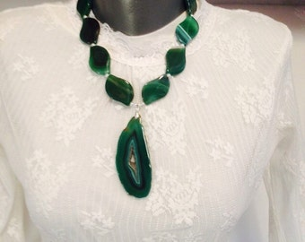 Bold Green Necklace