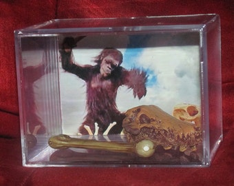 2001 A Space Odyssey (Inspired) fossil Display..Only Have 1 of these...(we combine shipping)