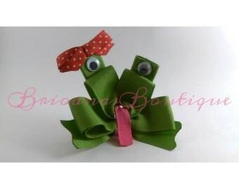 Froggy Hair Clip