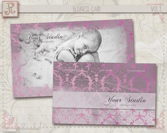 Photography Business Card Template - Photoshop Files vol.1