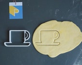 Coffee cup cookie cutter,...