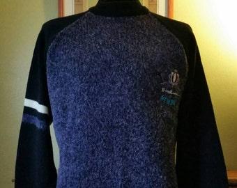 90's Hipster Sweater Vintage I.O.U. Crew Neck Jumper sz M