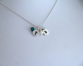 Customized Initial Letter Necklace