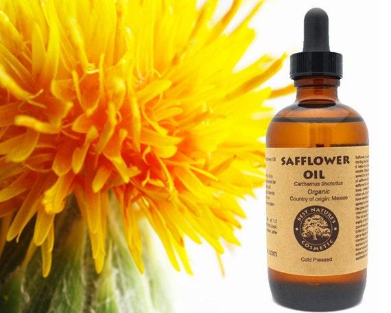 Unrefined safflower oil