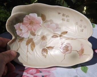 Vintage Porcelain Dogwood Dish