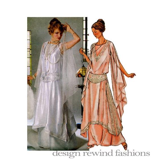 Renaissance Wedding Dress Costume History Mccall S By Heychica: Women's GOWN TUNIC GIRDLE Costume Pattern 1914 Gatsby Era
