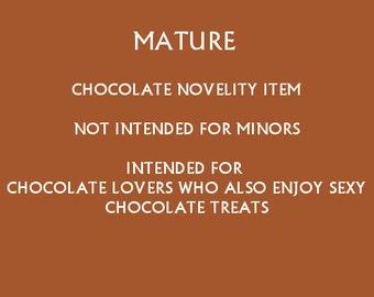 Adult Chocolates - Penis - Chocolate Lollipop -