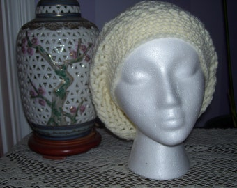 Off White Slouch Hat