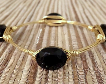 the RAISINETTE bangle bracelet (tarnish resistant)