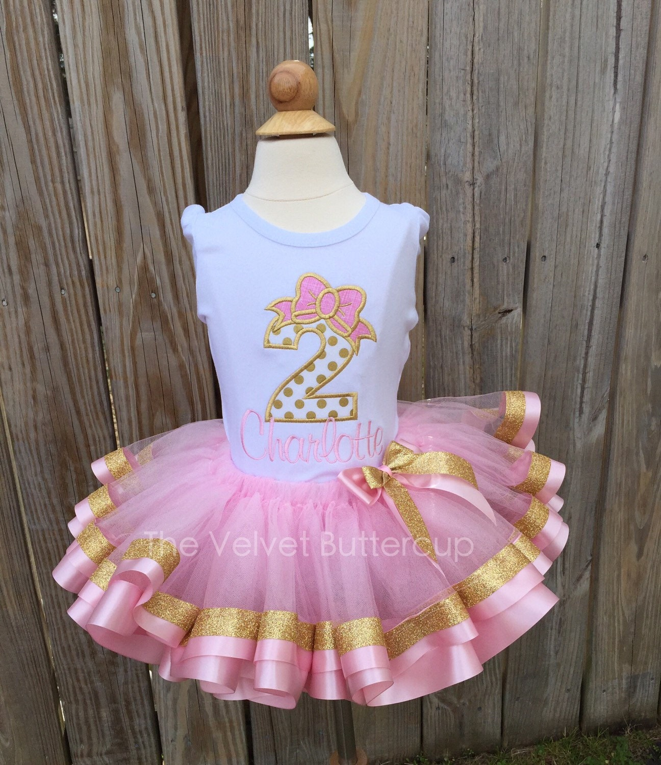 Birthday Party Outfit: Second Birthday Outfit Second Birthday Set By