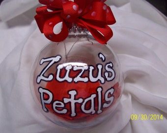 Zuzu's Petals Handpainted Ornament It's a Wonderful Life