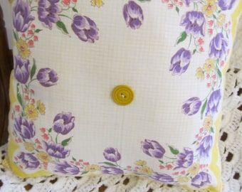 Yellow Handkerchief Pillow