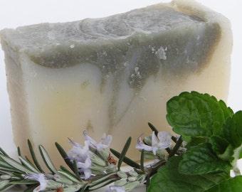 Detoxifying Mint, Organic Soap, Handmade Soap, Vegan Soap