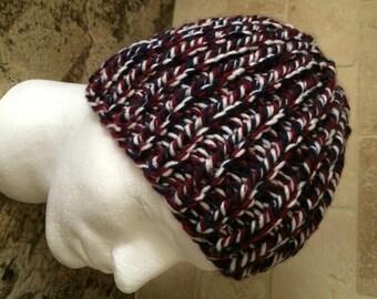 Boy's/Teen Hand Knit Beanie