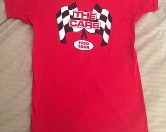 Vtg The Cars 1980 Tour Shirt NOS size L 42-44