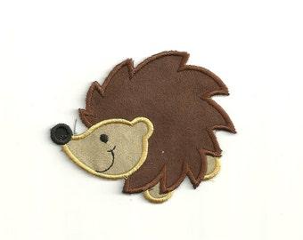 Cartoon Hedgehog Patch! Custom Made!