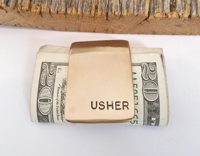 Usher Wedding Gifts: Wedding Favors For Usher Mens Accessories Husband Moneyclip