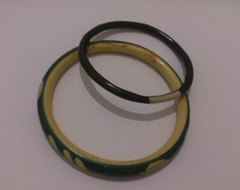 Two Antique Bangles