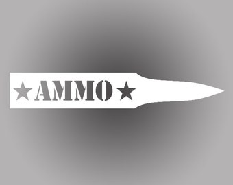Ammo Star Bullet Decal | Set of 2