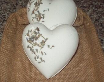 Lavender and Bergamot Aromatherapy Bathbomb. Mood uplifting