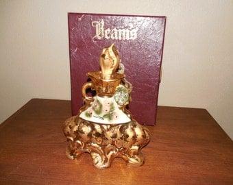 Beautiful 1972 Jim Beam Decanter & Case