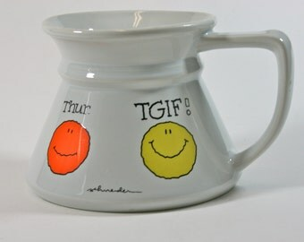 Fun Days of the Week Cup