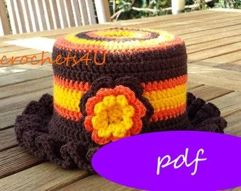 crochet pattern cozy toilet paper, crochet toilet, crocheted toilet roll cozy, vintage crochet