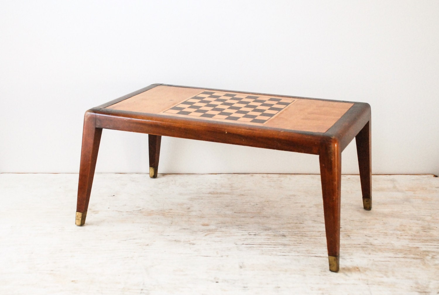 Chess table game table chess board wooden game table by littlecows - Wooden chess tables ...
