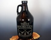 Harry Potter - Three Broomsticks - Growler - Amber - - 64 ounce