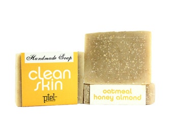 Oatmeal Honey Almond Handmade Soap
