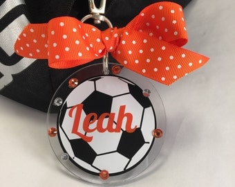 Soccer Bag Tag, Personalized