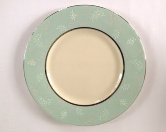 Castleton China Corsage Pattern Salad/Luncheon Plates