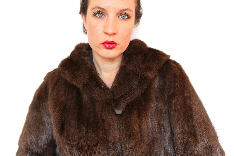 coat 40s beaver chubby
