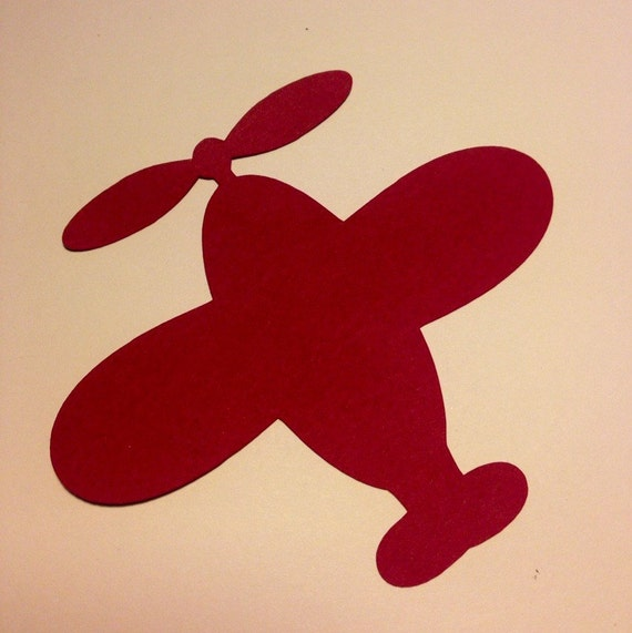 12 Planes Paper Die Cuts 4 5 Quot Select A Color Name