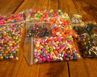 Multi-Colored beads
