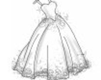 Custom make dresses for Pamela Guy