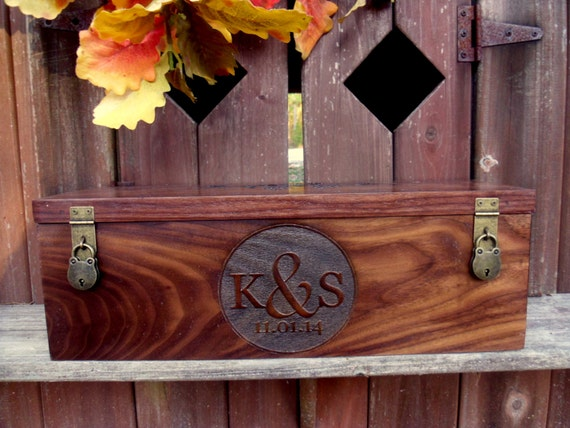 Wine Box, Custom Wine Box, Wedding Wine Box, Wedding Gift, Rustic Wine Box, Engraved Wine Box